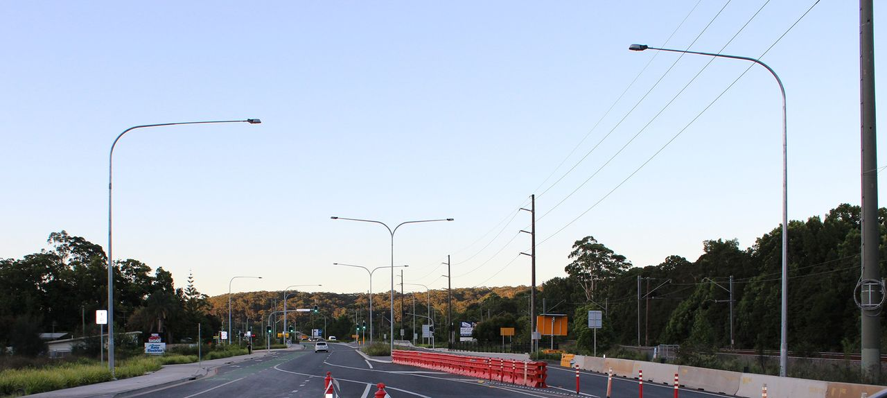 Overhead underground electrical works with & Auxiliary works plus supplementary streetlighting in Lisarow-Ourimbah, NSW