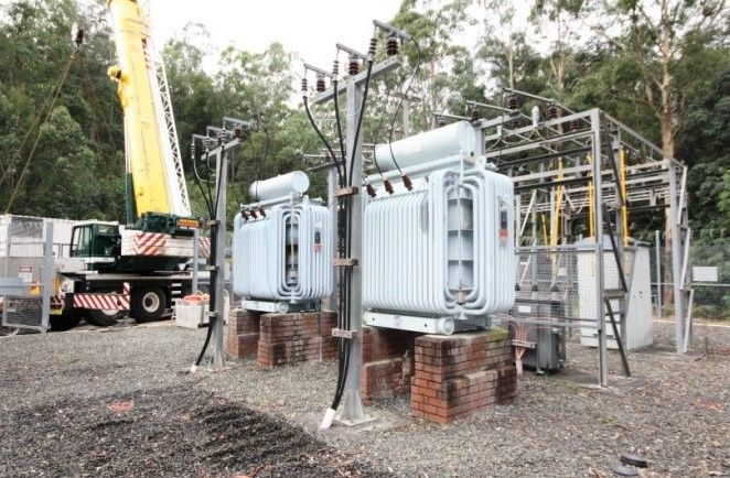 Mooney Mooney water pump station high voltage asset replacement project for Gosford City Council